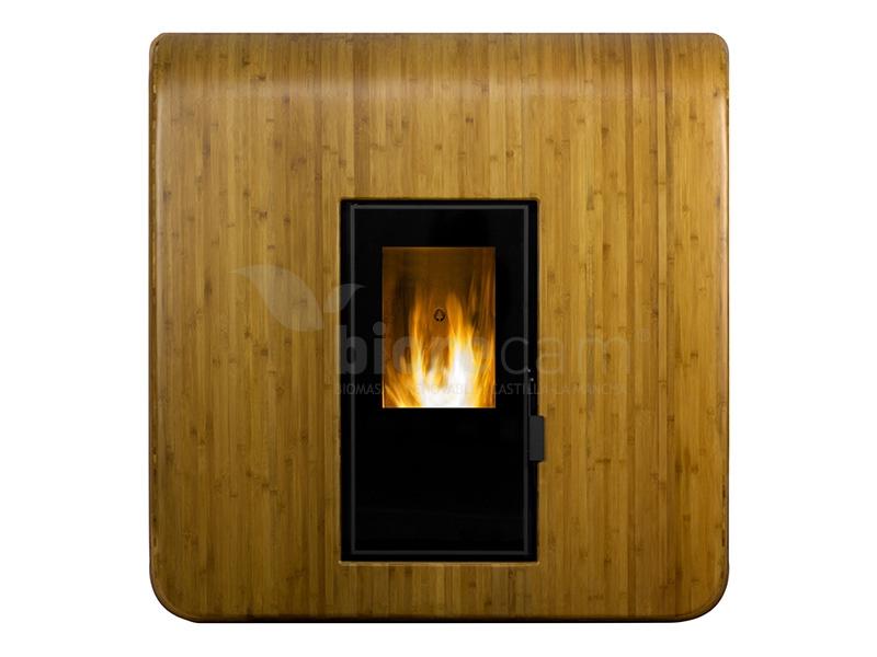 Estufa de aire canalizable ecoforest venecia - Estufas de pellets de aire ...